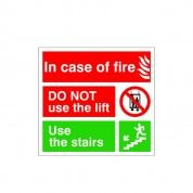 Fire Action Sign FEX 18