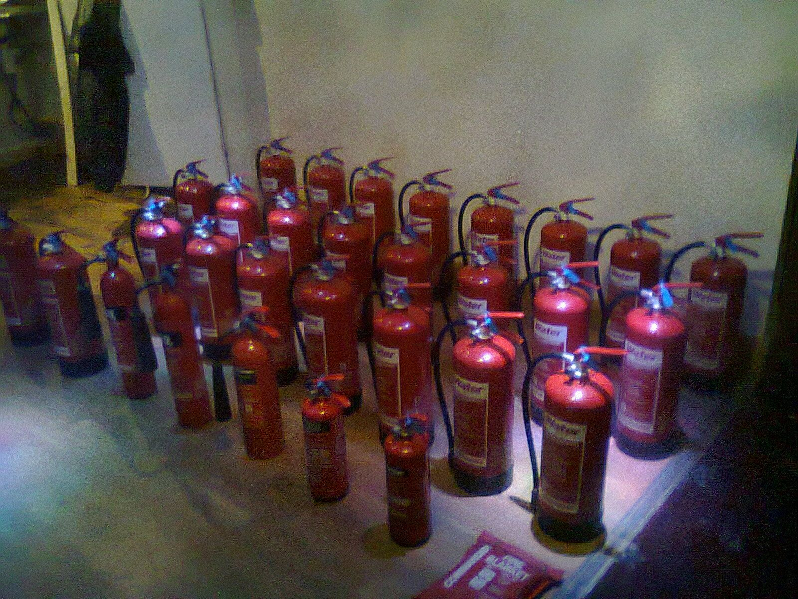 Fire Risk Assessment Inspection, Fire Extinguisher Service