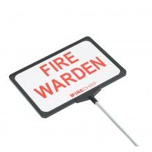 Fire Warden Sign - Telescopic