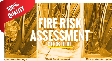 What's In Your Fire Risk Assessment - Fire Safety Risk Assessment Inspection - Fire Risk Assessment Report - Fire Safety Strategy - Workplace Fire Risk Assessment - London, Slough, Maidenhead, Bracknell, Reading, Staines, Twickenham, Guildford, Oxford & Watford.